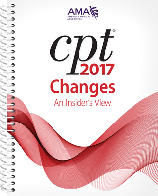 CPT® Changes 2017: An Insider's View Book Cover