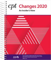 CPT® Changes 2020: An Insider's View Book Cover
