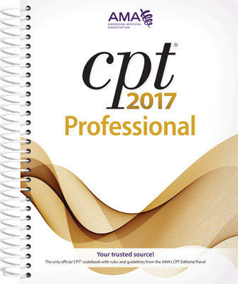 CPT® 2017 Professional Spiral Book Cover