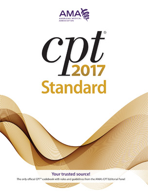 CPT® 2017 Standard Softbound Book Cover