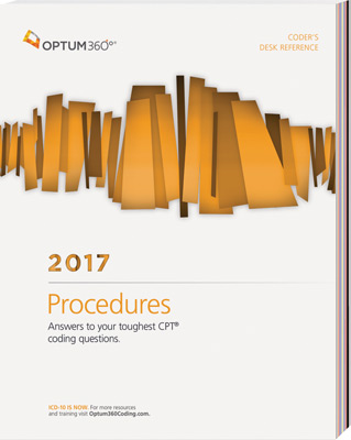 Coders Desk Reference for Procedures 2017 Book Cover